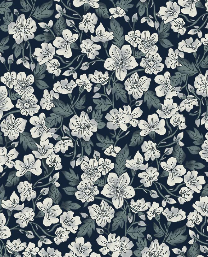 indigo florals   marisahopkins