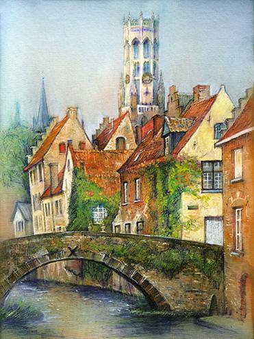 Bruges Belgium Artfromolga
